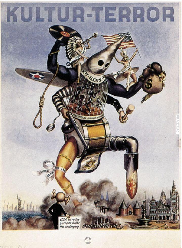 Ameryka według Niemców, 1944