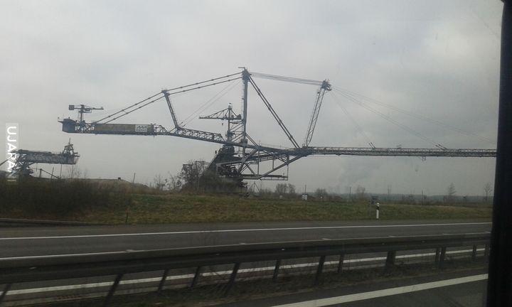ładowarko - zwałowarka gdzieś u Niemca