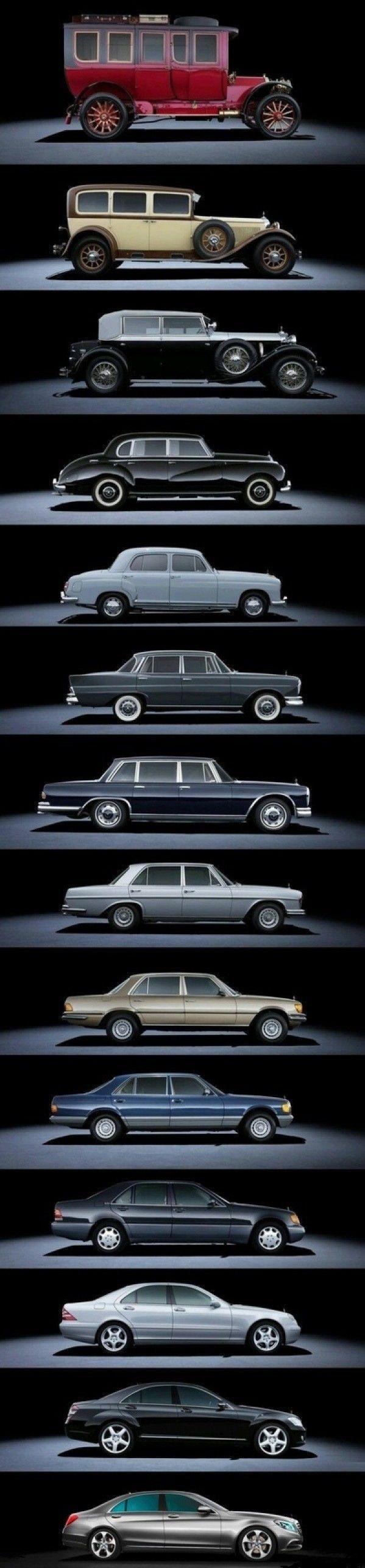 Evolution Mercedes :)