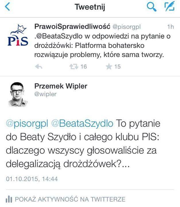 PiS a sprawa drożdżówkowa