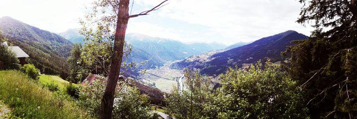 Przez europe' w Górach