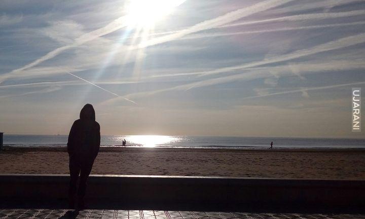 Przez europe` Na plaży