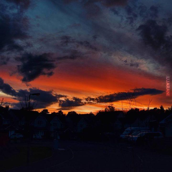 Kolejny magiczny zachód słońca