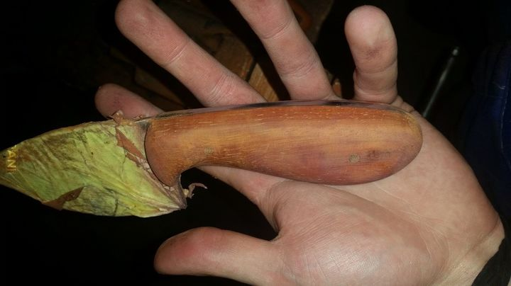 Nóż, część trzecia - ostatnia :)