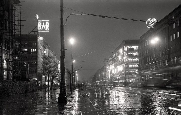 Warszawa lat pięćdziesiątych