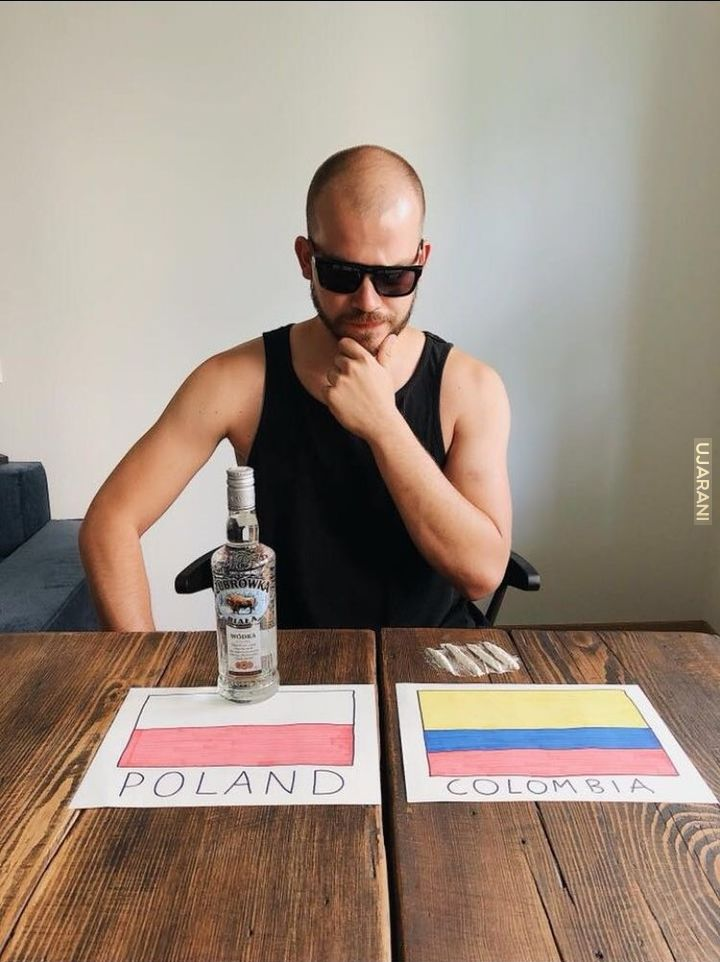 Polska vs Kolumbia