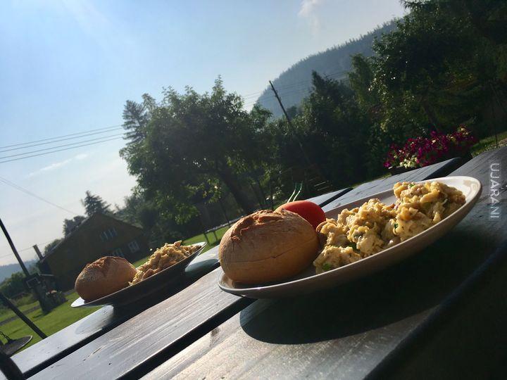 Sniadanko w górach