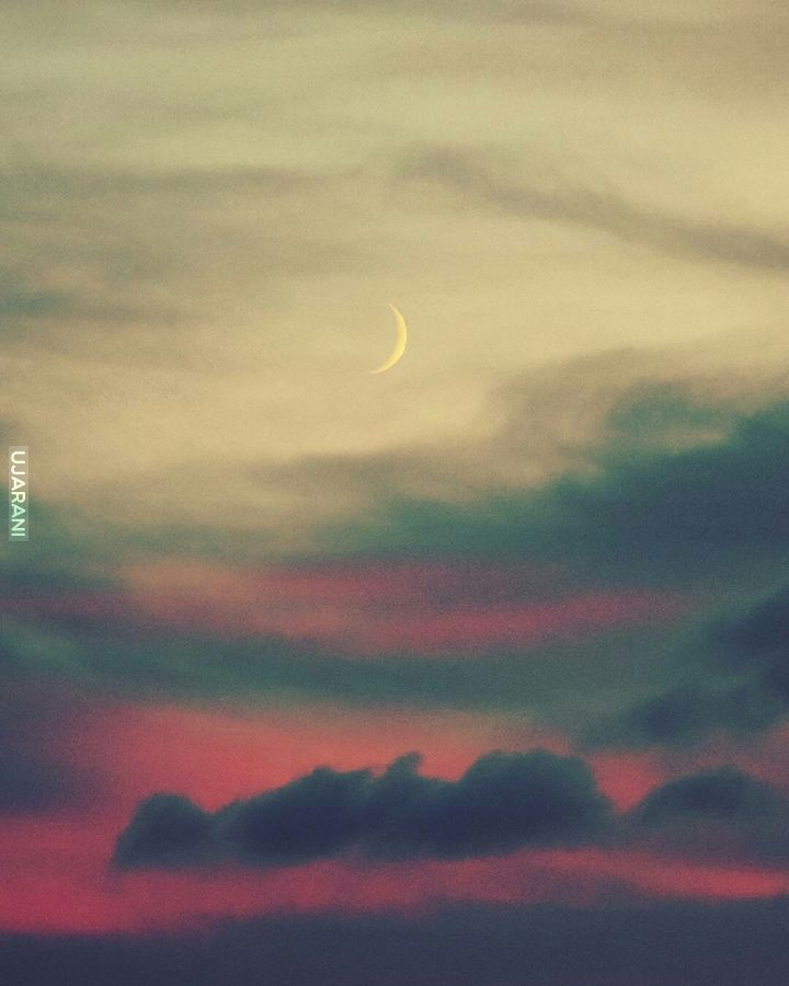 Wieczorne niebo w moim obiektywie