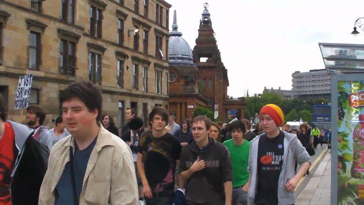 Glasgow weed