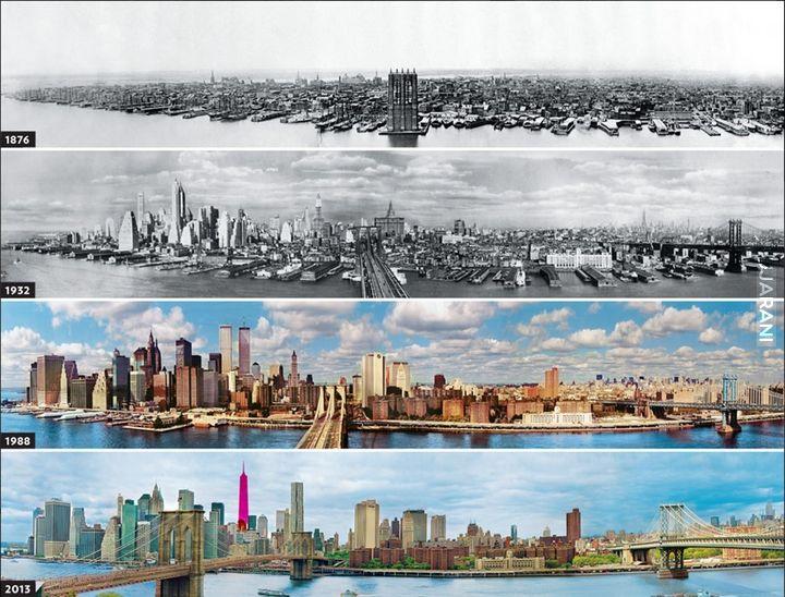 Rozwój Nowego Jorku