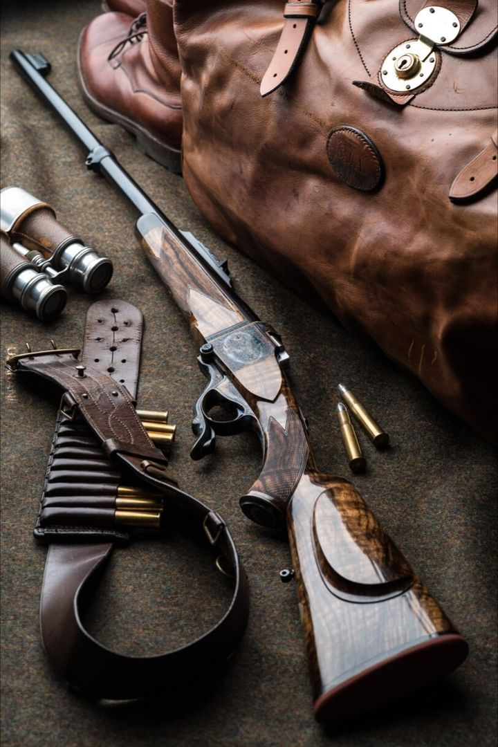 "450-400 3"" Westley Richards Farquharson rifle"