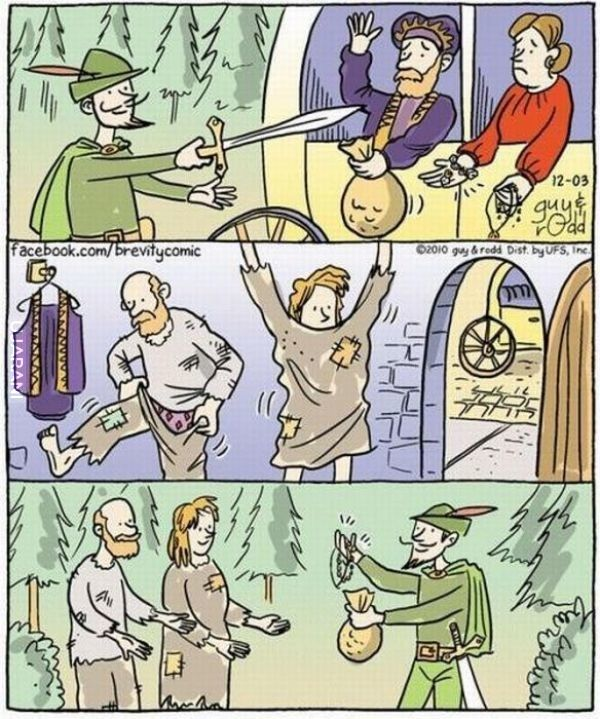 Logika Robina Hooda