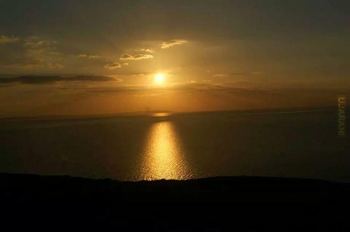 Zachód słońca Llandudno