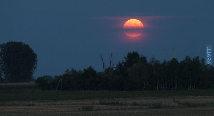 Wschodzący Księżyc w pełni