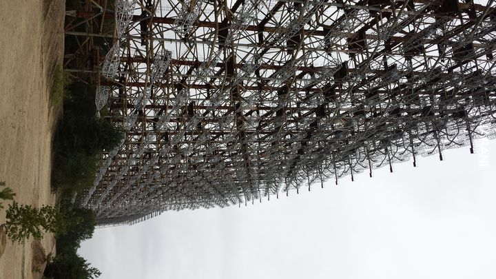 Czarnobylska Strefa Wykluczenia - radar Duga 2 - rok 2015