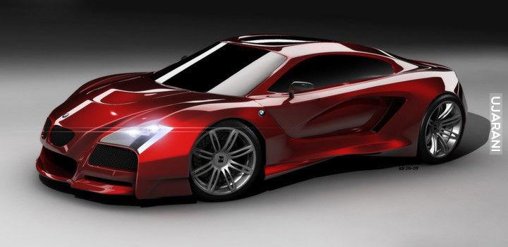 Concept samochodów znanych marek