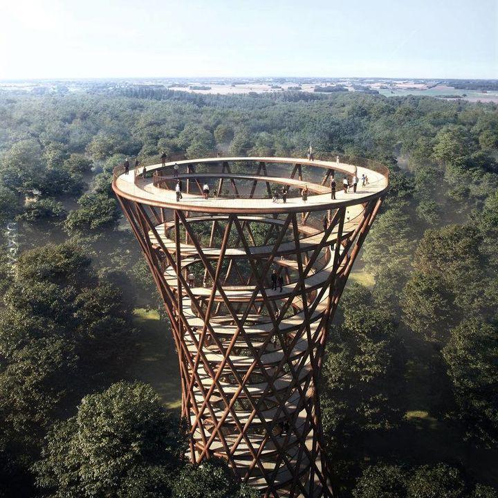 Wieża widokowa w Danii