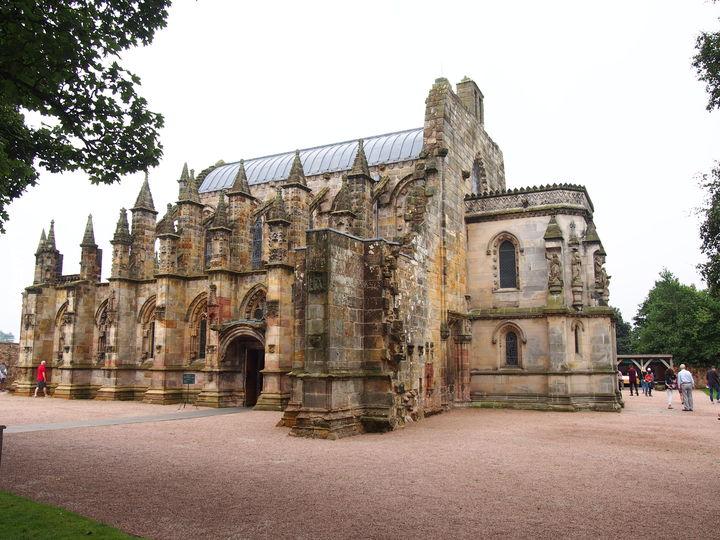 Rosslyn Chapel - Templariusze, Masoni, św.Gral...