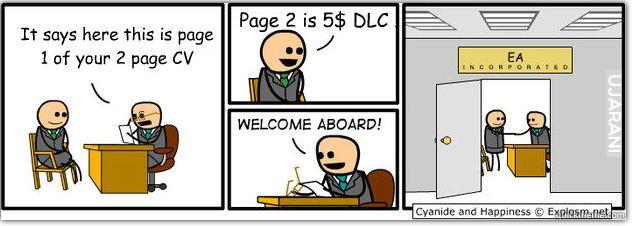 Rozmowa o pracę w EA