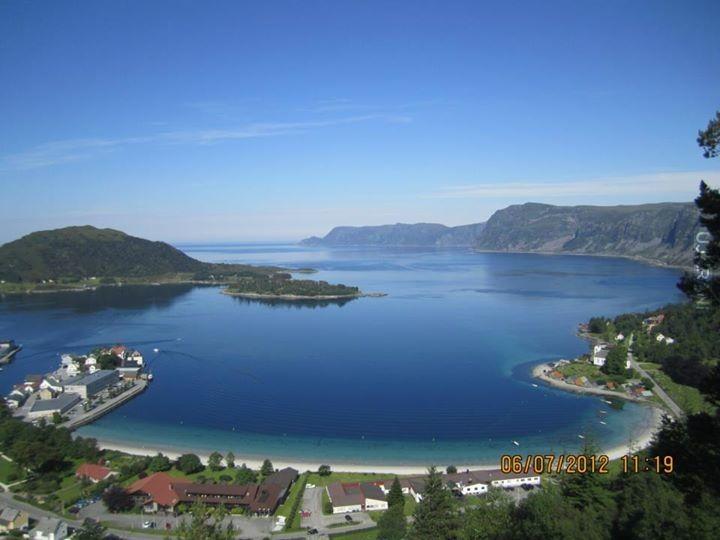 Selje, Norwegia (lato i zima)