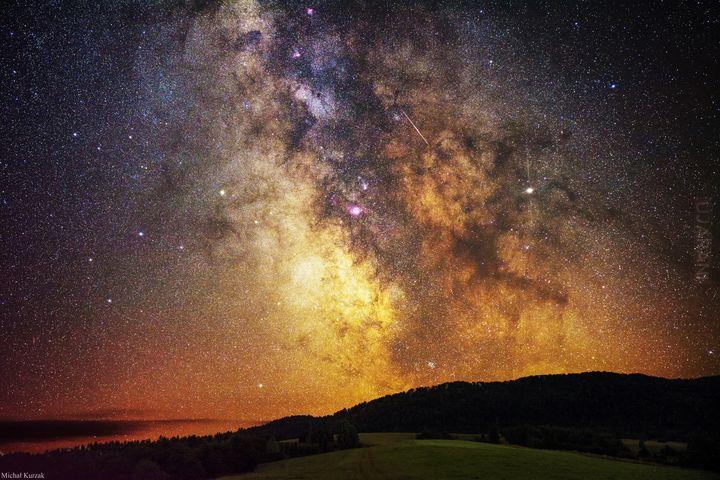 Galaktyczny krajobraz