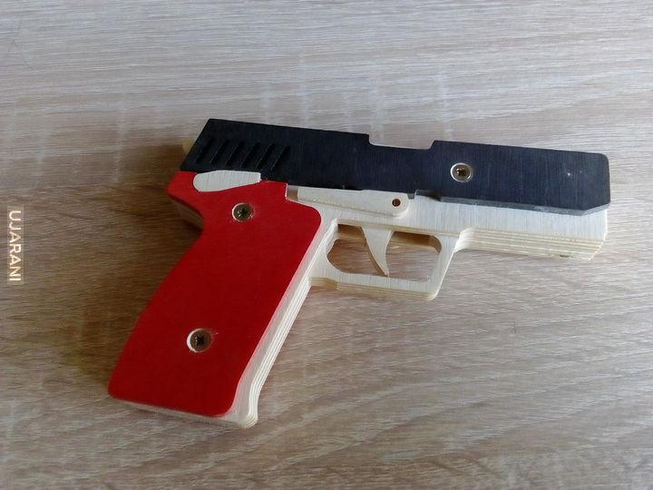 Ręcznie robione/cnc/laser :P - własne 37 - AKSU74 i H&K USP45