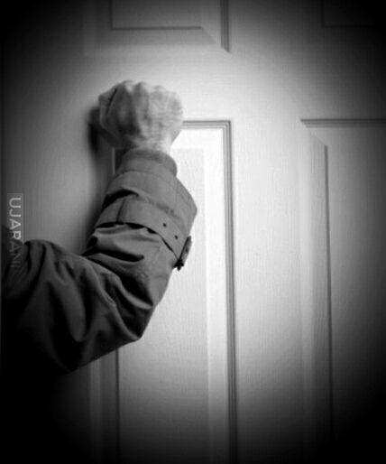 Kiedy ktoś nie wpuszcza Cię do środka, w końcu przestajesz pukać do drzwi