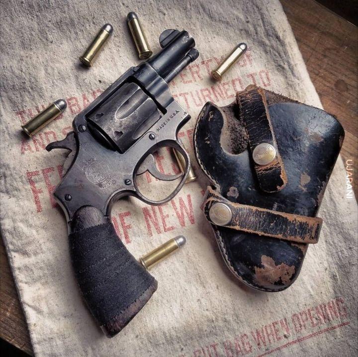 S & W Victory Revolver