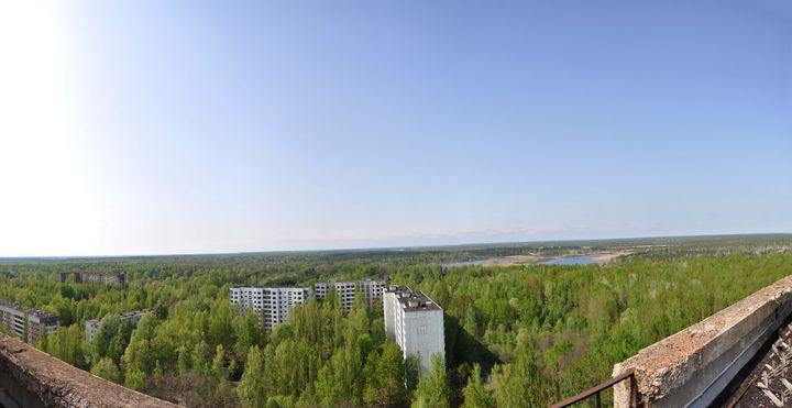 Strefa Wykluczenia wokół Czarnobylskiej Elektrowni Jądrowej (Prypeć)