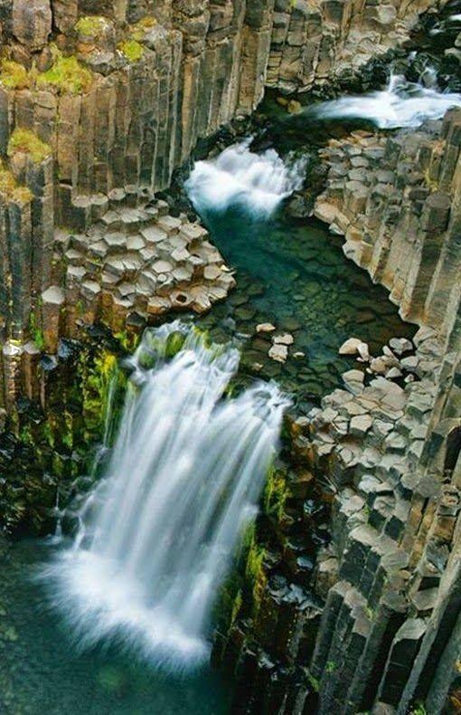 Svartifoss, Islandia