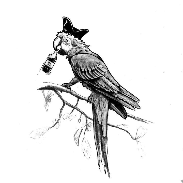 Papug i gołębiarz