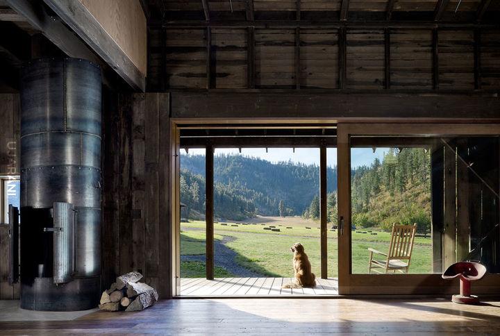 Na relaxie w stodole