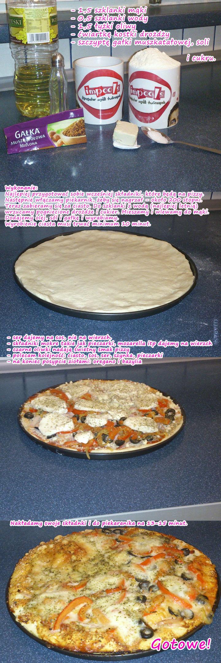 Najlepsze ciasto na pizzę