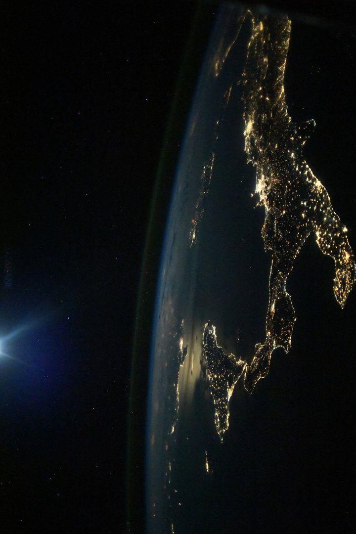 Włochy z kosmosu