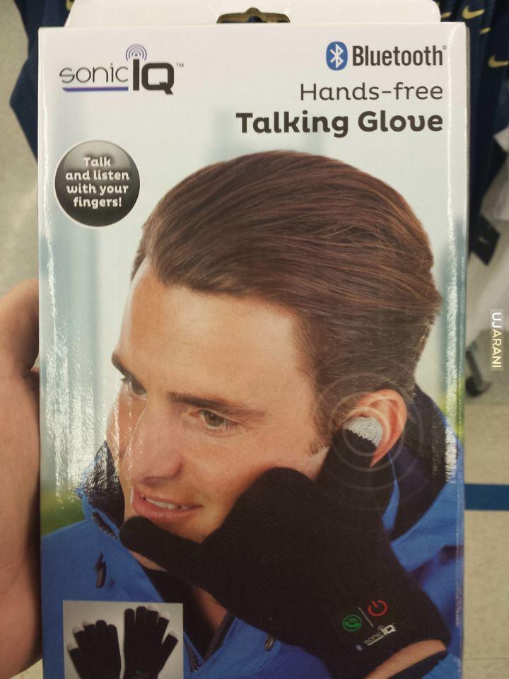 Rękawiczka Bluetooth