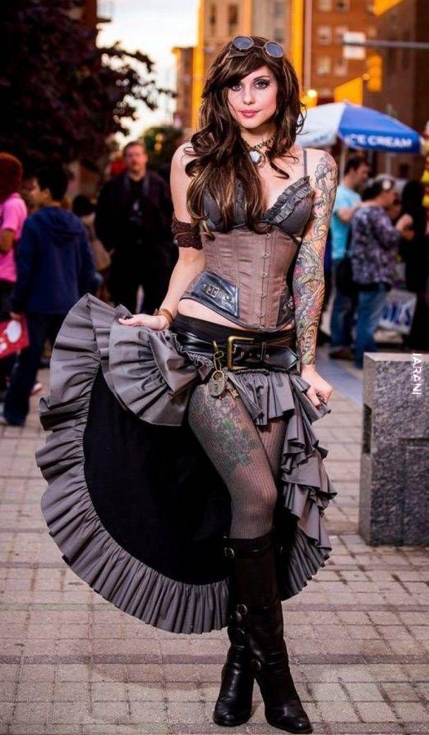 .steampunk girl 3