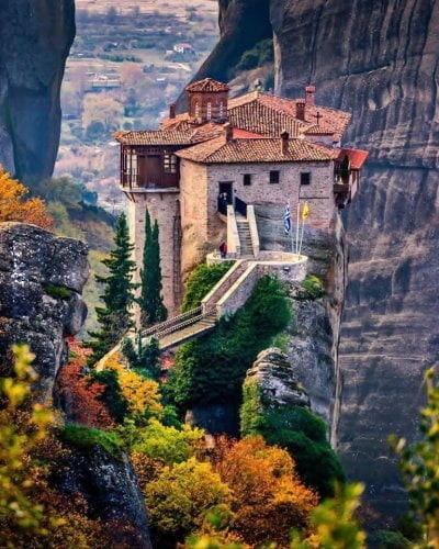 Klasztor w Grecji