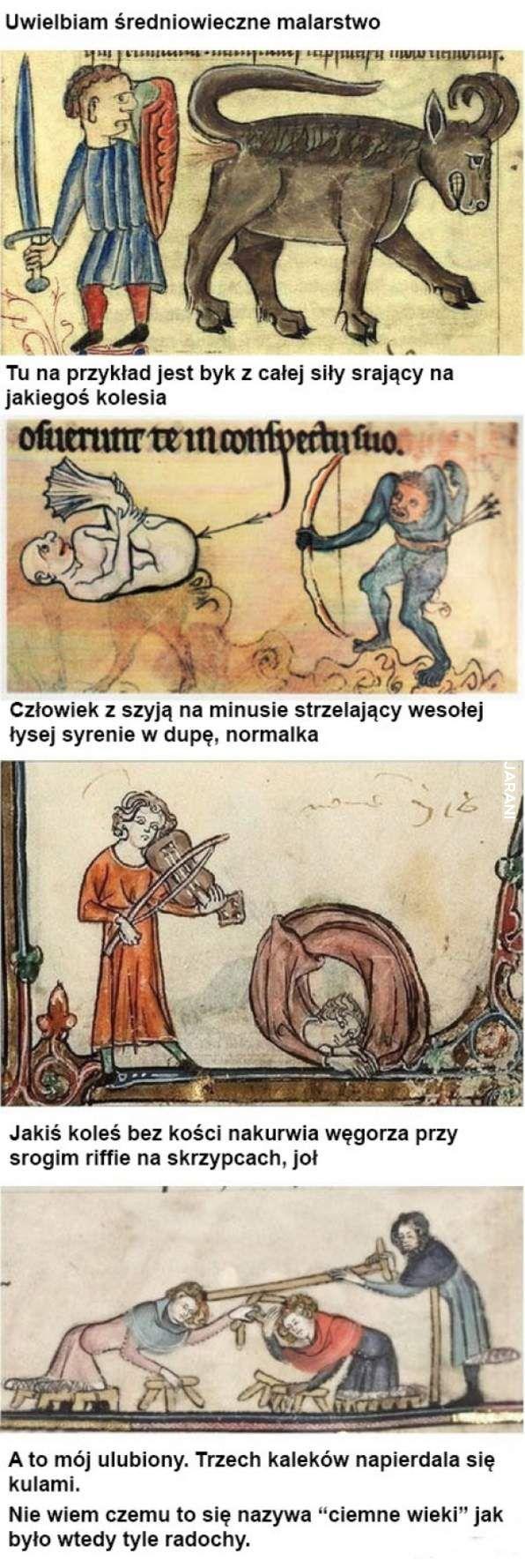 I w średniowieczu Mary Jane nie była obca artystom