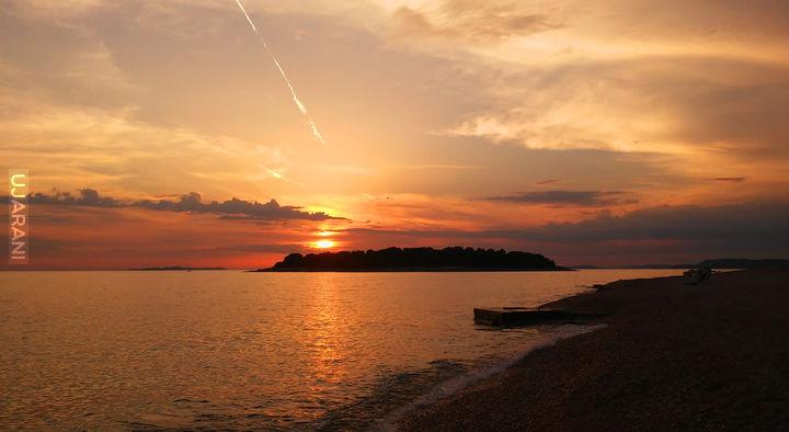 Chorwacja. Plaża w Primosten