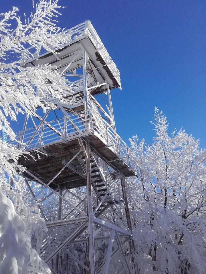 Wieża widokowa na Kalenicy! ;)