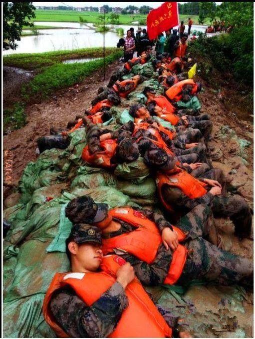 Martwi żołnierze Chińskiej Armii Ludowo-Wyzwoleńczej