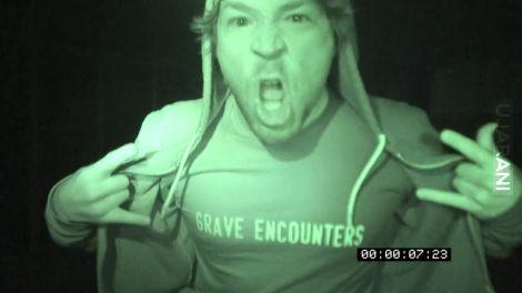 "Z cyklu: polecam film - ""Grave encounters"""