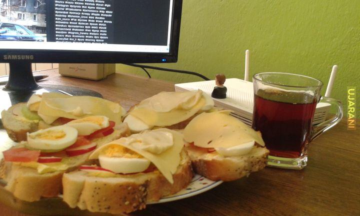 Śniadanie mistrzów :D