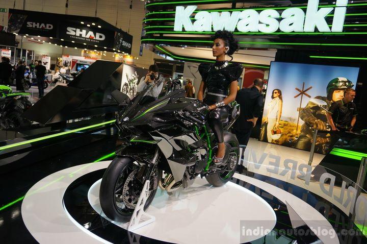Kawasaki H2R 300 KM !