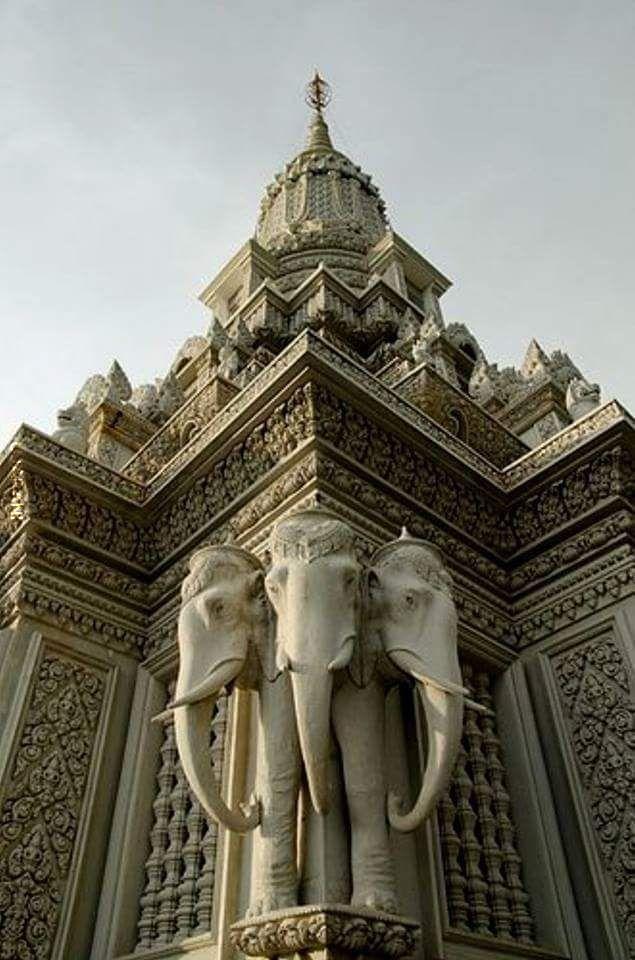 Oudong Kambodża