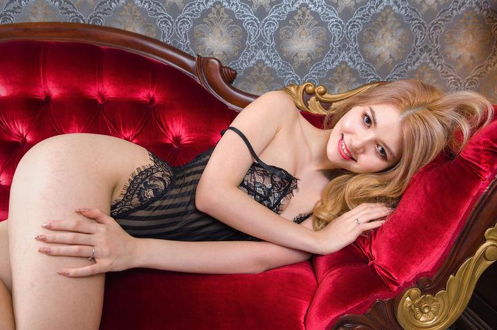 Asian blond