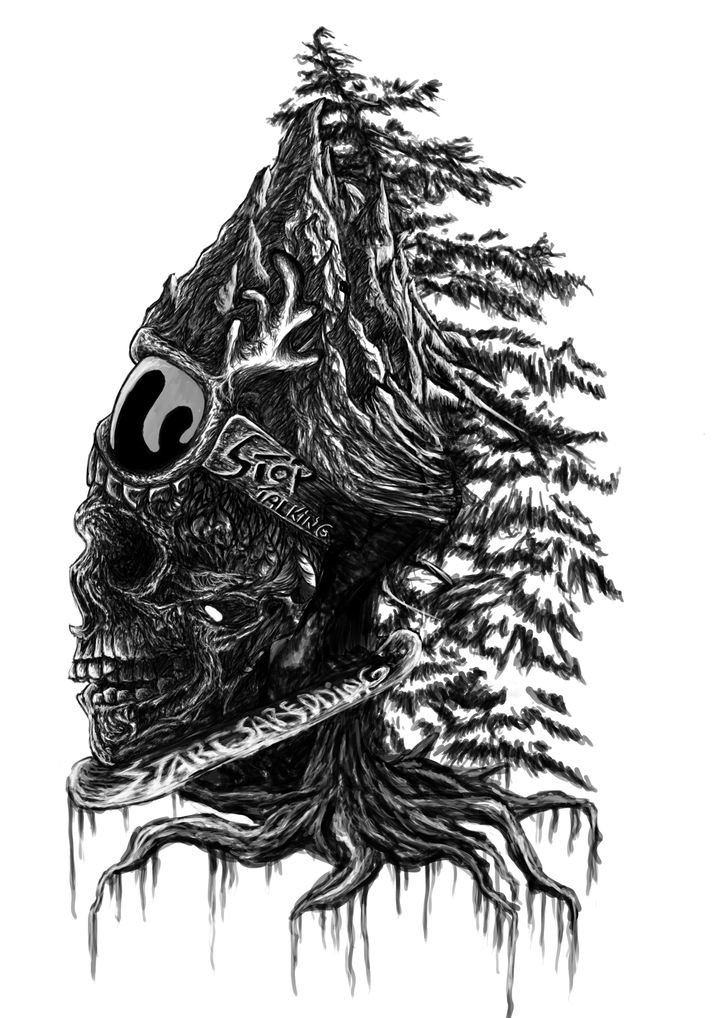 Stop talking, start shredding :) kolejny twór.