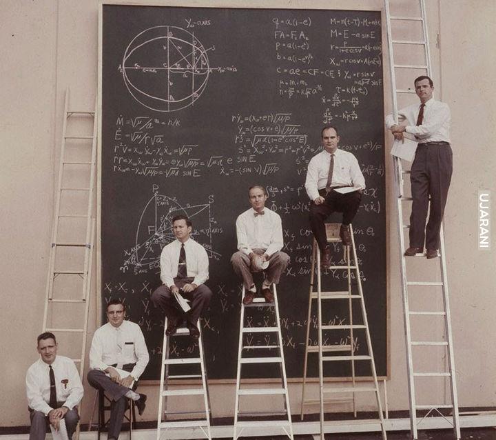 Naukowcy NASA w 1961