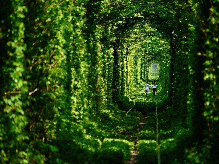 tunel miłości Ukraina