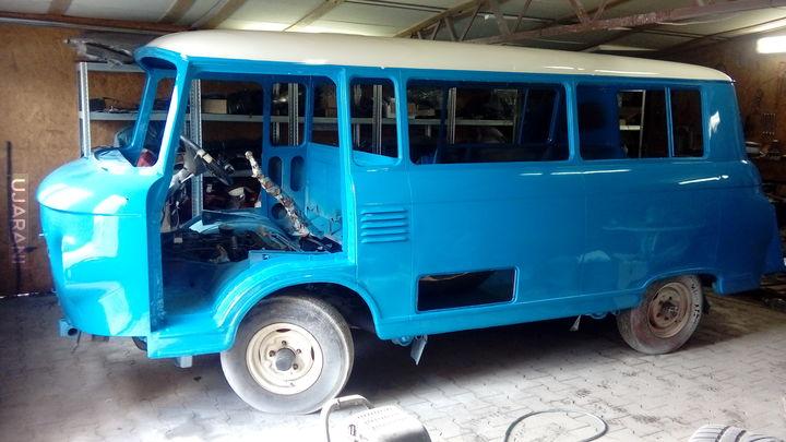 Renowacja Barkasa B1000